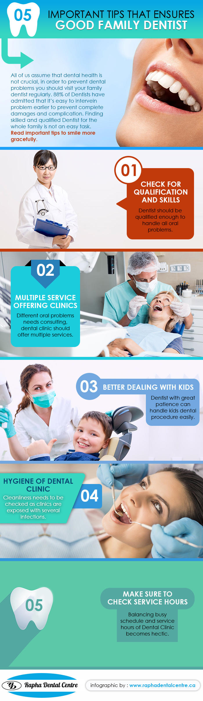 Tips to hire a good family dentist